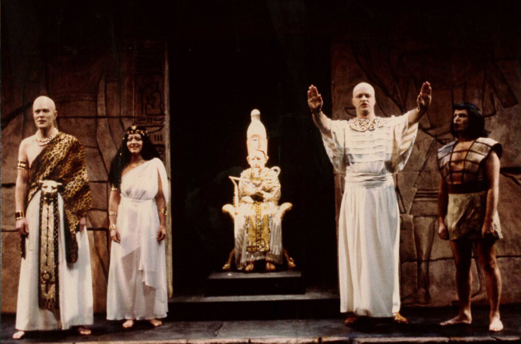 Aida som spelades på Folkoperan 1985.