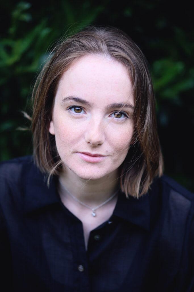 Porträtt av operasångerskan Madeleine Allsop.