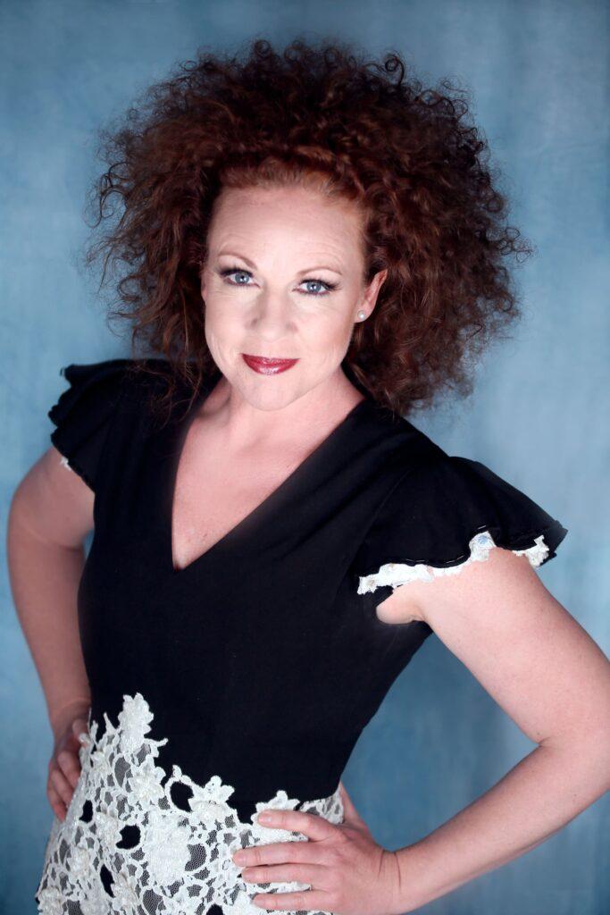 Porträtt av operasångerskan Matilda Paulsson.